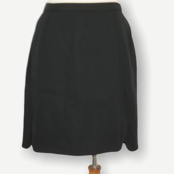 GIORGIO ARMANI VINTAGE BLACK PENCIL Mini SKIRT